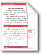 The First Computer Bug (Gr. 3/Week 34)