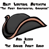 The First Continental Congress - Skit Writing Activity