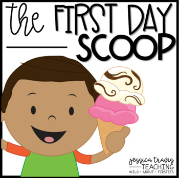 """The First Day """"Scoop"""" {Craftivity, Booklet, Hat, and MORE}"""