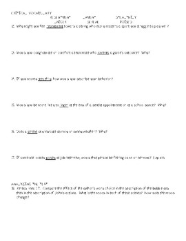 The First Day of School Comprehensive Study Guide