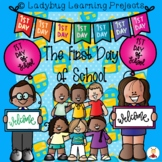 The First Day of School  {Ladybug Learning Projects}