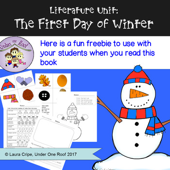 The First Day of Winter: A Literature Unit