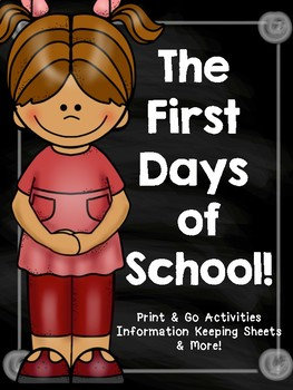 The First Days Of School!