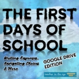 The First Days of School Activities for MS or HS Google Dr