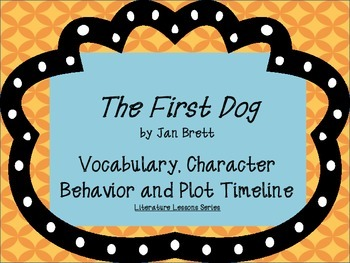 The first dog teaching resources teachers pay teachers the first dog activities for guided read aloud fandeluxe Image collections