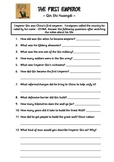 The First Emperor of China worksheet
