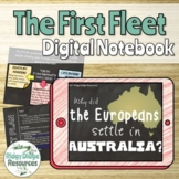 The First Fleet Digital Student Notebook