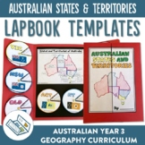 Australian States and Territories Lapbook Activities and Fact Sheets