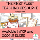 The First Fleet Posters and Teaching Activities Online Learning