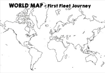 The First Fleet - Powerpoint (EDITABLE)
