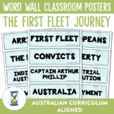 The First Fleet Word Wall