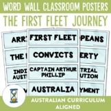 The First Fleet Word Wall