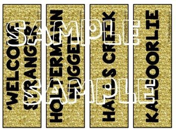 The Australian Gold Rush Word Wall