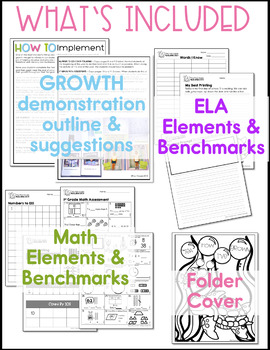Beginning and End of the Year Assessment - The First Grade Measuring Stick