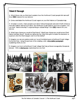 The First Nations of Canada // Big Lesson Bundle!