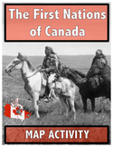 The First Nations of Canada // Map Activity