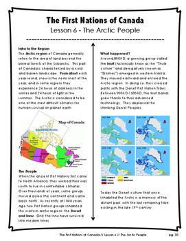 The First Nations of Canada // The Arctic People // Inuit