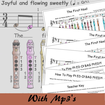 The First Noel - Recorder Christmas Sheet Music