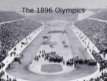 The First Olympics (1896)