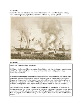 The First Opium War (AP World  -  Structured Academic Controversy)