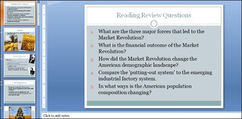 The First & Second American Industrial Revolution Illustration Activity