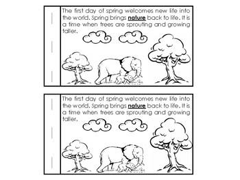 Spring Emergent Reader & Fluent (Booklet) April
