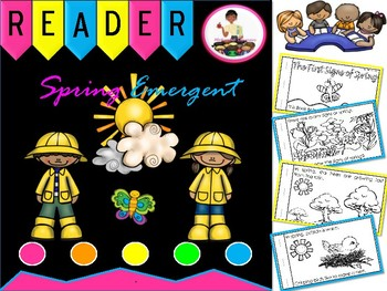 Spring Emergent Reader & Fluent (Booklet) April