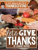 The First Thanksgiving {A Complete Non-Fiction Resource}