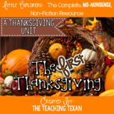 The First Thanksgiving:  A Non-Fiction Reading, Writing, and Science Unit