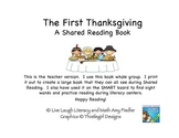 The First Thanksgiving- A Shared Reading Book