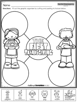 The First Thanksgiving Adapted Book