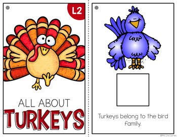 All About Turkeys { Level 1 and Level 2 } Turkey Life Cycle