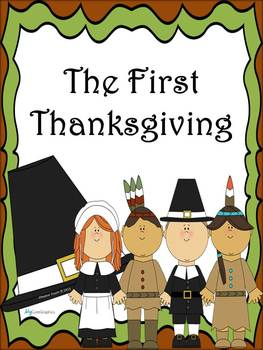 The First Thanksgiving Book  (PowerPoint and Student Packet)