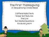 The First Thanksgiving Close Read
