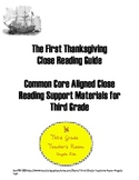 The First Thanksgiving Common Core Aligned Close Reading G