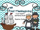 The First Thanksgiving Cut a Sentence Freebie