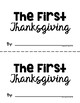 The First Thanksgiving Easy Reader