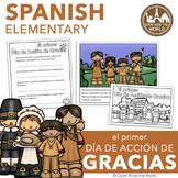 Spanish The First Thanksgiving El primer Día de Acción de Gracias