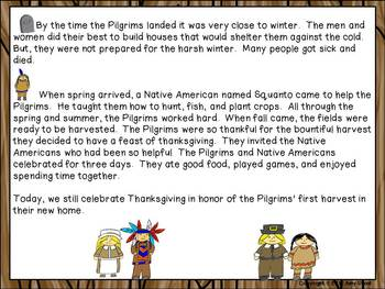 The First Thanksgiving: Fiction and Non-Fiction Fun