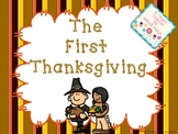The First Thanksgiving (Interactive Mini Book)