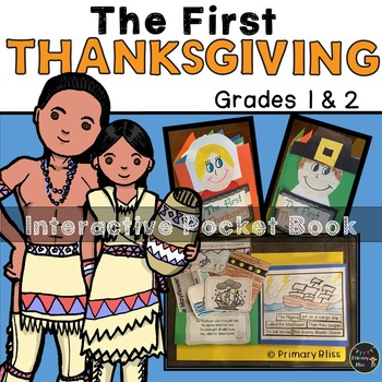 The First Thanksgiving Interactive Pocket Book - Common Core Aligned