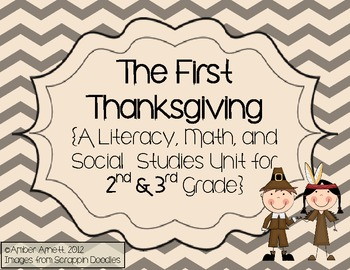 The First Thanksgiving- Math, Literacy, Science Unit- Pilgrims, Native Americans