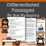 The First Thanksgiving Passages and Questions