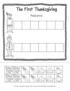 The First Thanksgiving Patterns