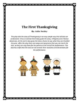 The First Thanksgiving Play