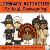 Thanksgiving Play or Readers Theater and Songs with Litera