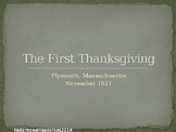 The First Thanksgiving PowerPoint