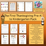 The First Thanksgiving Pre-K and Kindergarten Pack