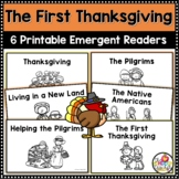 The First Thanksgiving Printable Nonfiction Emergent Reade