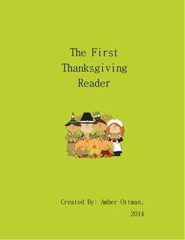 The First Thanksgiving Reader